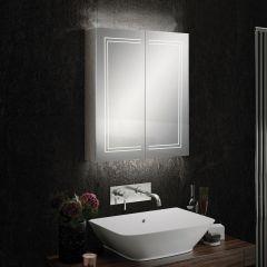 HIB Edge 60 Mirrored Bathroom Cabinet