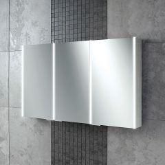 HIB Edge 120 Mirrored Bathroom Cabinet