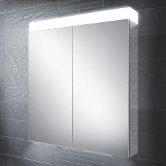 HIB Apex 80 Mirrored Bathroom Cabinet