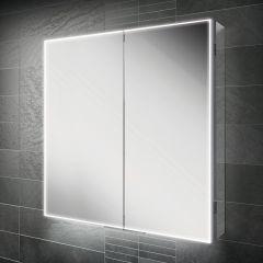HIB Exos 80 Mirrored Bathroom Cabinet