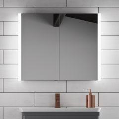 HIB Paragon 80 Mirrored Bathroom Cabinet