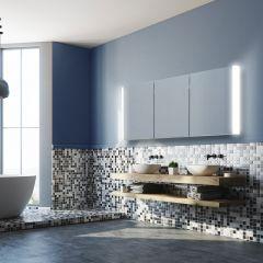 HIB Paragon 120 Mirrored Bathroom Cabinet