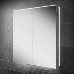 HIB Ether 60 Mirrored Bathroom Cabinet