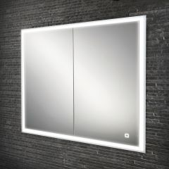HIB Vanquish 80 Mirrored Bathroom Cabinet