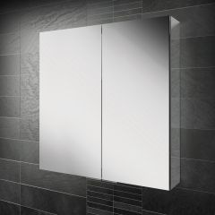 HIB Eris 80 Mirrored Bathroom Cabinet