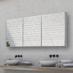 HIB Eris 120 Mirrored Bathroom Cabinet