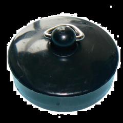 "Poly Basin Plug 1 1/2"" Black"