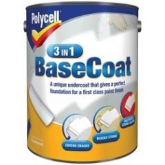 Polycell 3 In 1 Basecoat 2.5L