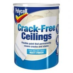 Polycell Crack Free Ceilings Smooth 2.5L-Silk