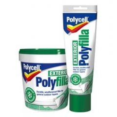 Polycell Exterior Polyfilla Ready Mixed  Tub 1kg