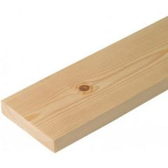 25x175mm PSE Redwood (Planed Square Edge) fin sizes 20x170mm