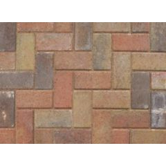 Marshalls Standard Concrete Block Paving (50 per m2)-Sunrise