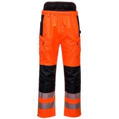 TPPW038P-1-Portwest-Hi-Vis-Trousers-Orange/Black