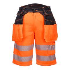 TPPW073P-1-Portwest-Holster-Shorts- Orange/Black