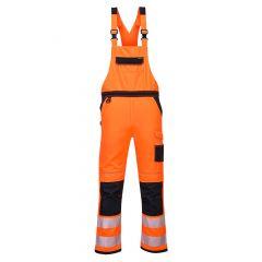 TPPW061P-1-Portwest-Bib-Brace-Orange/Black
