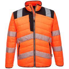 TPPW048P-1-Portwest-Baffle-Jacket-Orange/Black
