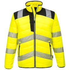 TPPW047P-1-Portwest-Baffle-Jacket-Yellow/Black