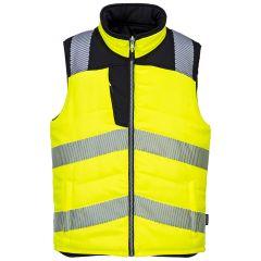 TPPW067P-1-Portwest-Bodywarmer-Yellow/Black