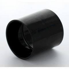 Hunter Solvent Weld ABS Straight Coupling Black 50mm - WAC5B