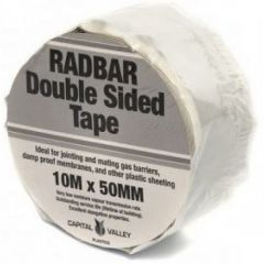Roll 10m x 50mm Double Sided Butyl Radon Tape - RADDS10015