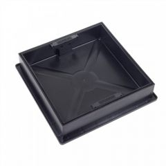 Recessed Square to Round Block Paving Manhole Cover & Frame 3.5T