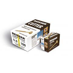 Box 100 Reisser R2 Cutter Yellow H/P Wood Screw 6.0x120mm