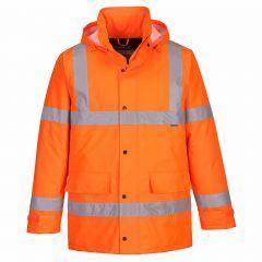 TPPW205P-1-Portwest-Hi-Vis-Jacket- Orange