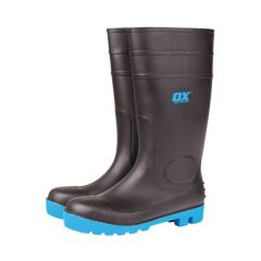 Ox Safety Wellington Boot Black