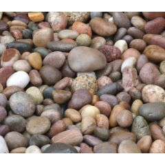 Scottish Pebbles 20-30mm-25kg - Poly Bag