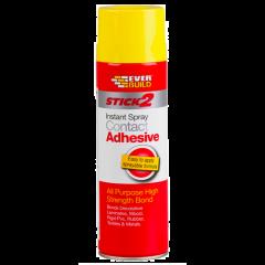 Everbuild Stick 2 Contact Adhesive Spray 500ml