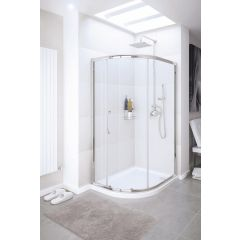 Lakes Classic Single Door Quadrant 800x1900mm - SDV2R080S