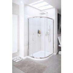 Lakes Classic Single Door Quadrant 900x1900mm - SDV2R090S