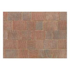 Stonemarket Trident Rumbled Concrete Block Paving-Sierra-240x160x50mm