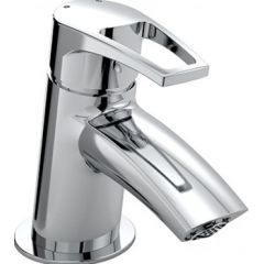 Bristan Smile Small Basin Mixer Chrome SM SMBAS C