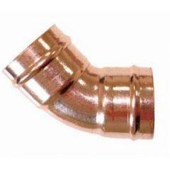 Solder Ring Fig21 45deg Elbow 22mm
