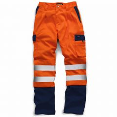 TCSS150P-1-Standsafe-Hi-Vis-HV039-Work-Trousers-Orange