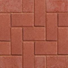 Marshalls Standard Concrete Block Paving (50 per m2)-Red