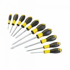 Stanley 10-piece Essential Screwdriver Set - STA060211