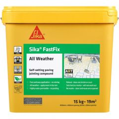 Sika All Weather FastFix Jointing Compound 15kg  Stone - SKFFIXSTN16