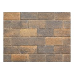 Stonemarket Pavedrive Concrete Block Paving-Burnt Ochre