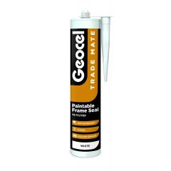 Trade Mate Silicone Frame Seal 310ml Brown
