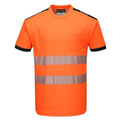 TPPW138P-1-Portwest-T-Shirt-Orange/Black