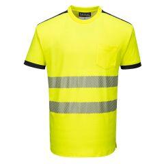 TPPW137P-1-Portwest-T-Shirt-Yellow/Black