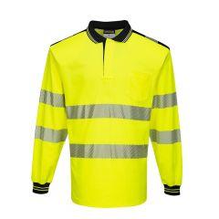 TPPW119P-1-Portwest-Hi-Vis-Polo-Shirt-Yellow/Black