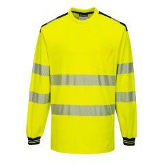 TPPW131P-1-Portwest-Hi-Vis-T-Shirt- Yellow/Black