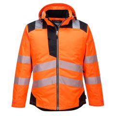 TPPW087P-1-Portwest-Hi-Vis-Winter-Jacket-Orange/Black