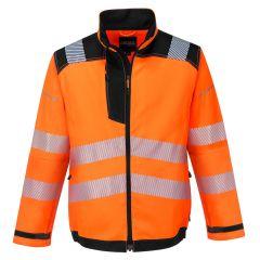 TPPW106P-1-Portwest-Hi-Vis-Work-Jacket- Orange-Black