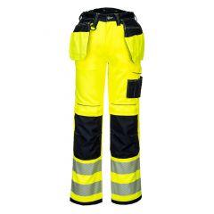 TPPW111P-1-Portwest-Hi-Vis-Holster-Work-Trousers-Yellow/Black