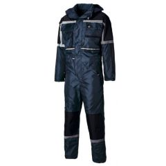 Dickies Waterproof Padded Coverall WP15000 Blue Size L