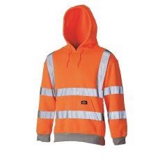Dickies Hi Vis Hoodie Orange GO/RT Size L - SA2001/SA22090